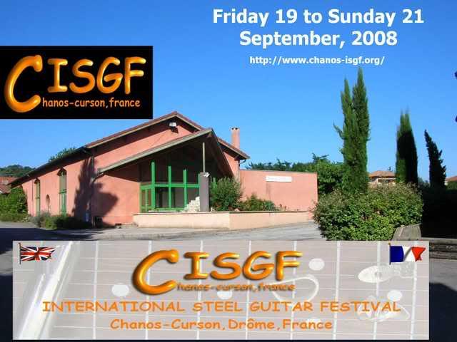 Chanos International Steel Guitar Festival CHANOSPROMO1