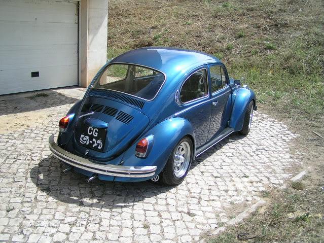 """Volkswagen 1302 de 72 """" Azulinho"""" VW002-1-1"""