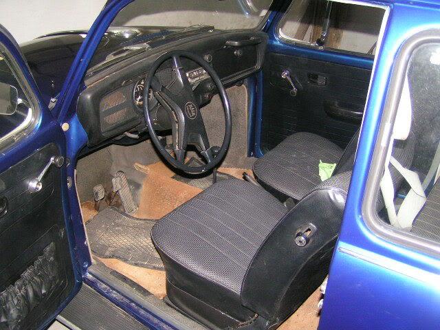 """Volkswagen 1302 de 72 """" Azulinho"""" VW010"""
