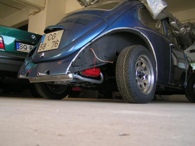"""Volkswagen 1302 de 72 """" Azulinho"""" VW1102"""