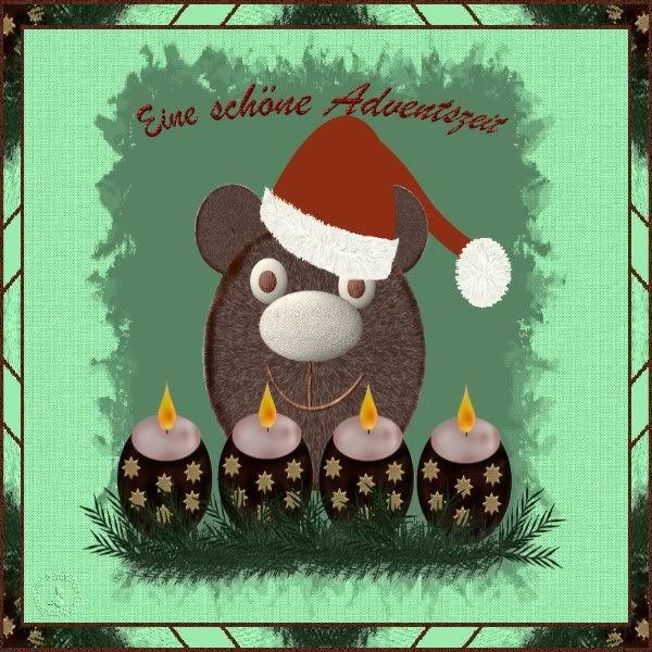Liebe Grüsse&Gegenbesuch Adventszeitb
