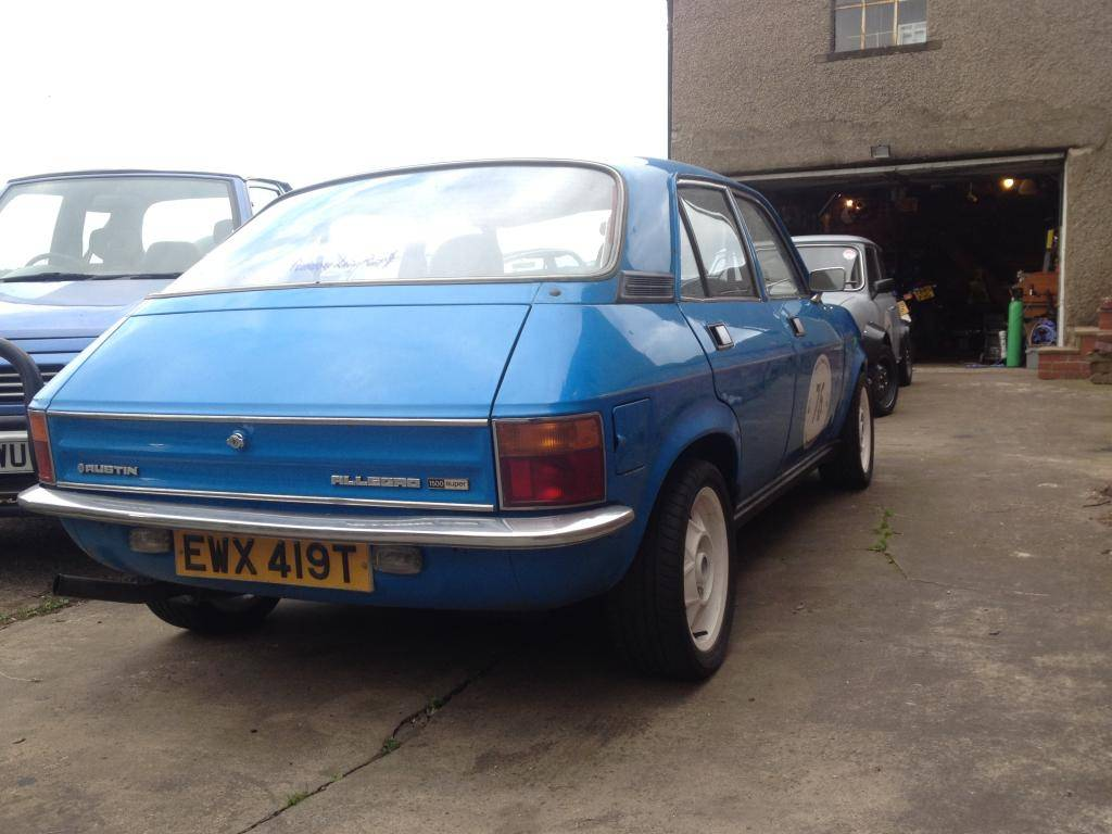 1979 Allegro 1500 Super Fast Road / Sprint car 75BAE00F-B892-476D-BC57-E1355323F5A3