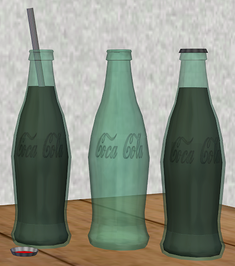 3 new meshes - Vintage Glass Bottles TS2 VGCB2