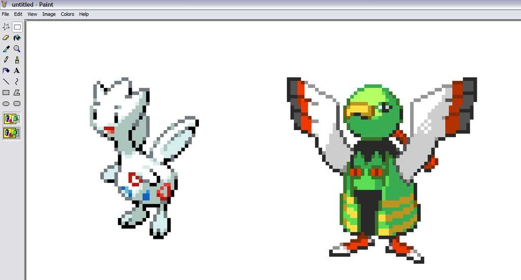 How To Make Pokemon Sprites