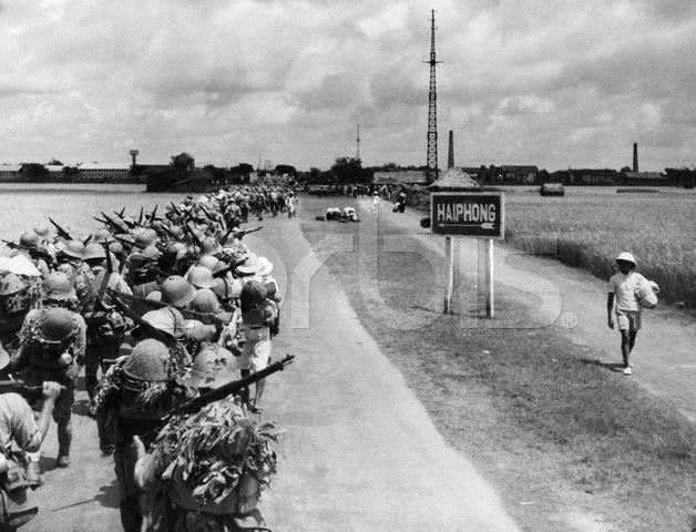 armée japonaise en indochine Haiphong
