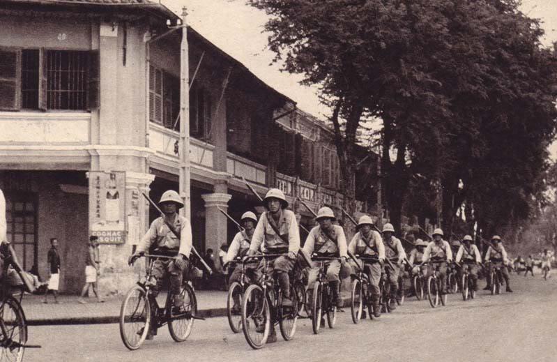 armée japonaise en indochine V12