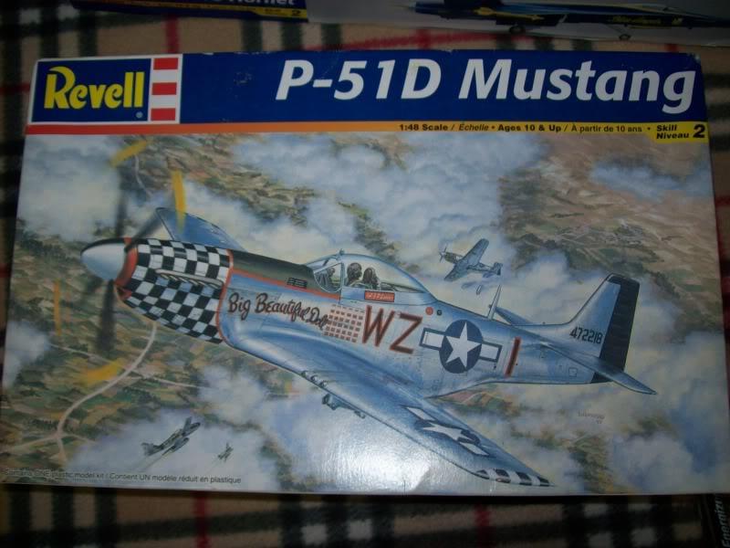 P-51D Betifull doll. Revell 1/48 100_1336-1