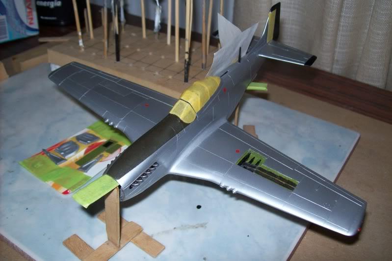 P-51D Betifull doll. Revell 1/48 100_1460