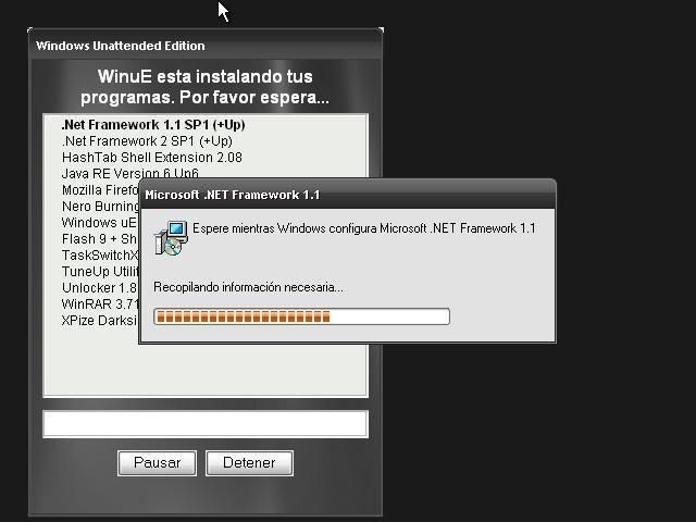 Windows XP Pro SP3 Unattended Version V7 [Español] Ue1
