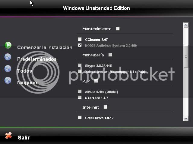 Windows XP Pro SP3 Unattended Version V7 [Español] Ue3