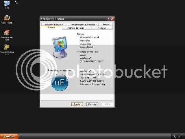 Windows XP Pro SP3 Unattended Version V7 [Español] Ue4-1