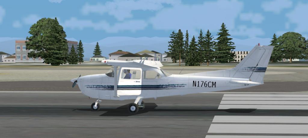 aeronaves - Problema texturas Aeronaves C172