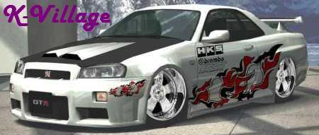 K-VIllage Scrim apply CopyofCl_Nissan_Skyline_GTR_1