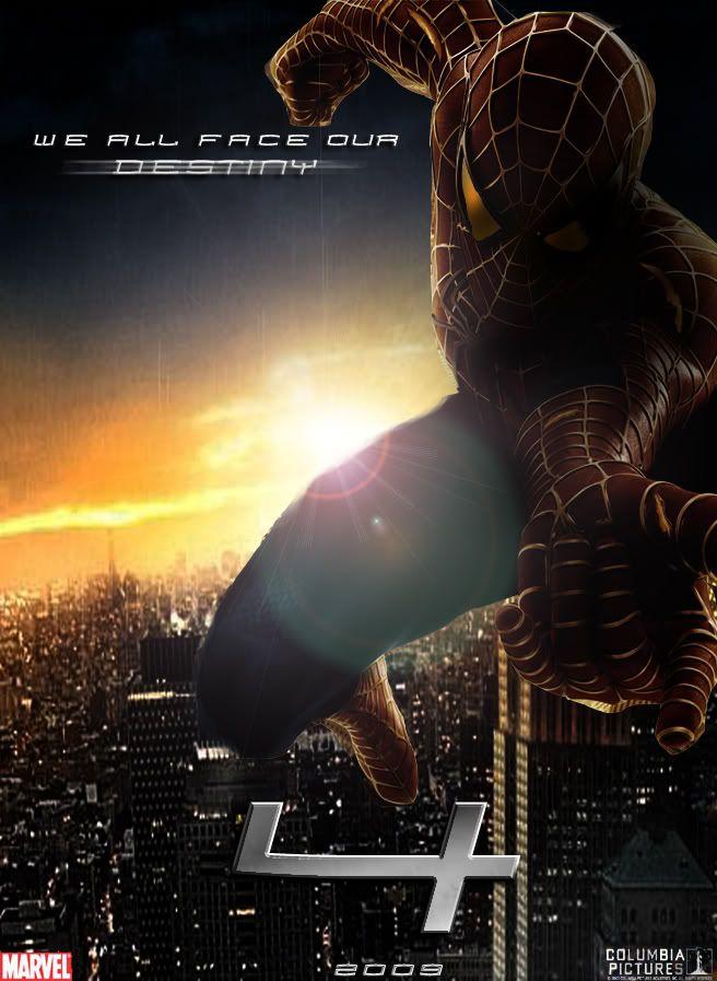 Spider-Man SPIDERMAN4posterrrrr-1