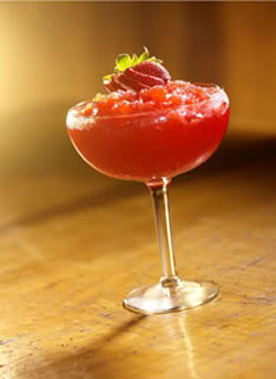 Frozen Strawberry Margarita FrozenStrawberryMargarita-barnonedrinks