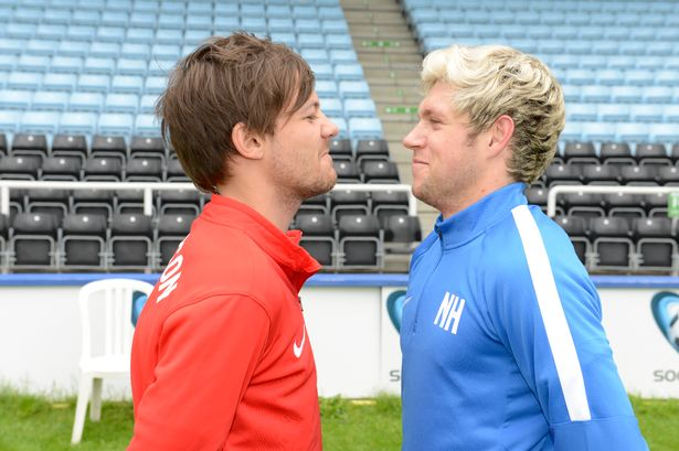 ¿Cuánto mide Louis Tomlinson? - Altura - Real height LOUIS_AND_NIALL_03JPG