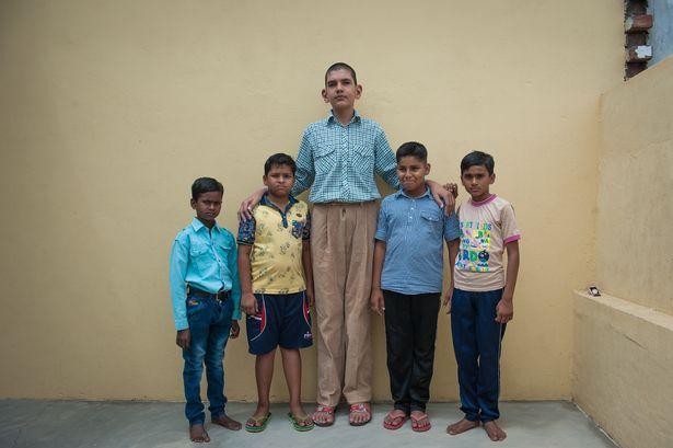 La historia del niño más alto de la India, Karan Singh PROD-DSC_3603