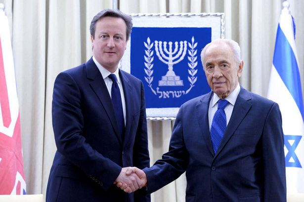PATETICO & DAMNATIO David-Cameron-with-Israeli-President-Shimon-Peres-in-Jerusalem