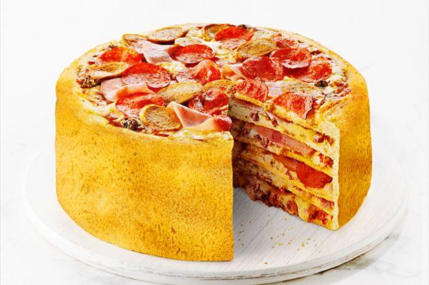 Bolo de pizza, você já ouviu falar? Pizza-Cake