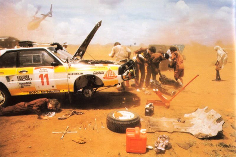 Fotos leyenda (Coches de calle, rallye, racing...) - Página 42 Blomqvist85Safari2