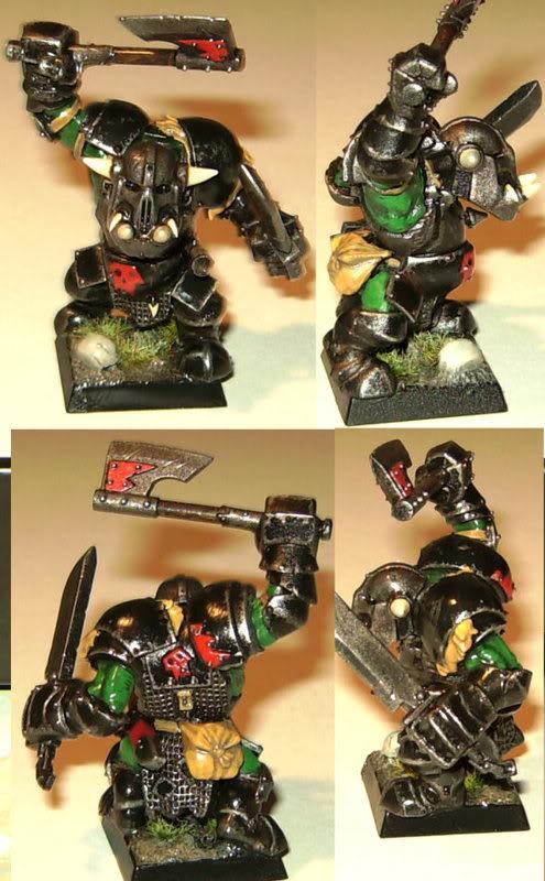 Asp's Group's Miniatures and Terrain Blackorc