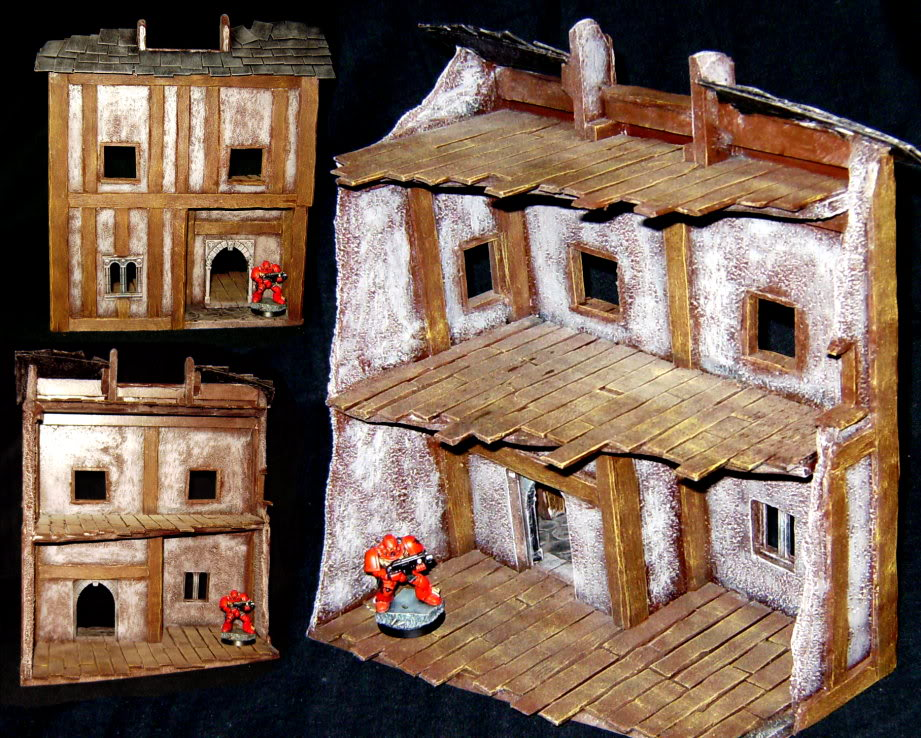 Asp's Group's Miniatures and Terrain Ruinhouse