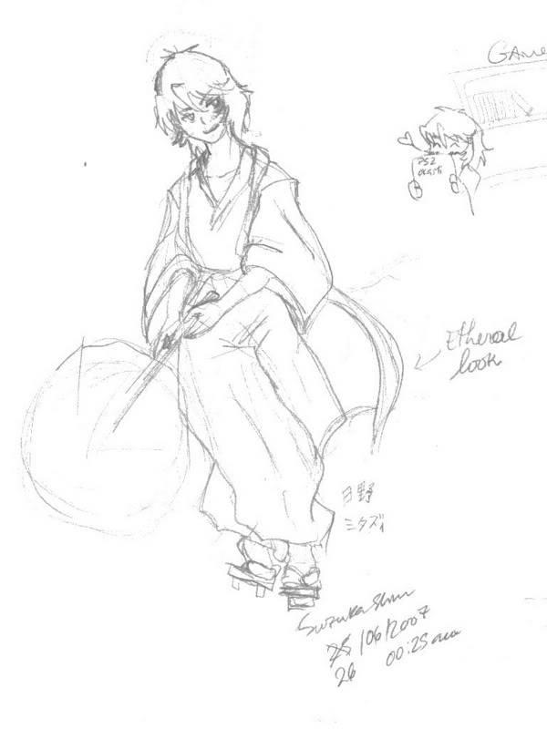 Suzuka's piece of wasted space. :B Mitasisheet