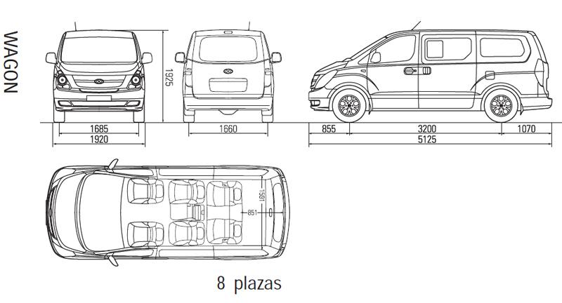 Medidad Interiores de Furgos y 4x4 9b