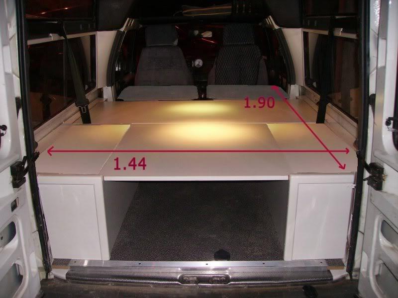 Medidad Interiores de Furgos y 4x4 Medidasbp3