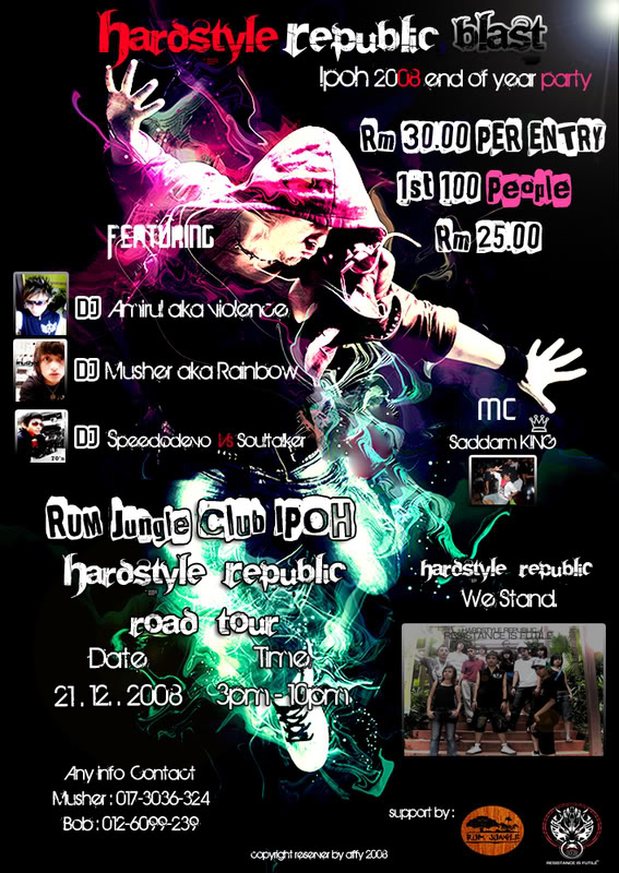 21.12,2008 - HARDSTYLE EVENT AT IPOH FLYERS... FLYERSIPOH2