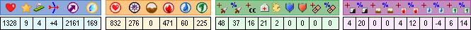 Gwyn-Du, niveau 182 : feu et +dommages Gwyn-145_stats2