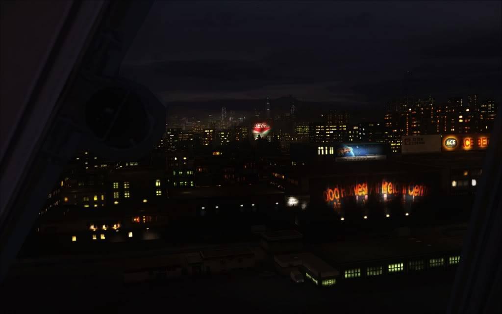 [FS9] Aproximação noturna no Kai Tak  Cris2011_041