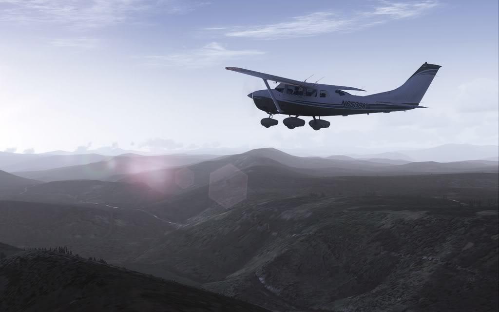 [FS9] Vôozinho visual com o Cessna Stationair  Cris2011_626