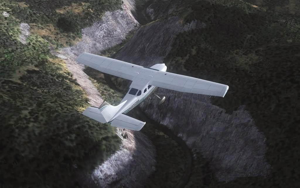 [FS9] Vôozinho visual com o Cessna Stationair  Cris2011_633