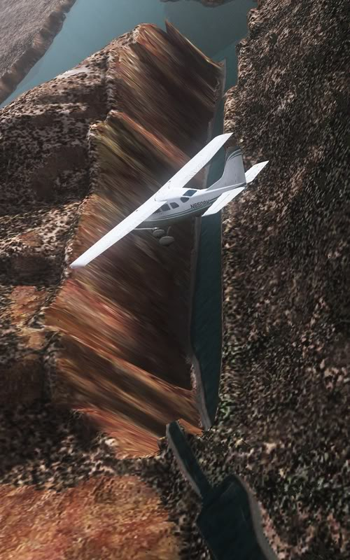 [FS9] Vôozinho visual com o Cessna Stationair  Cris2011_656