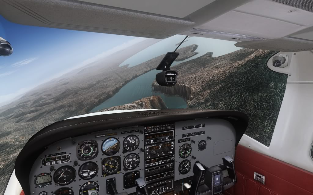 [FS9] Vôozinho visual com o Cessna Stationair  Cris2011_658