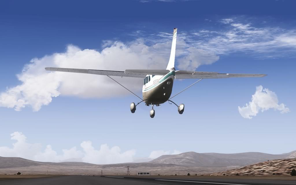 [FS9] Vôozinho visual com o Cessna Stationair  Cris2011_672
