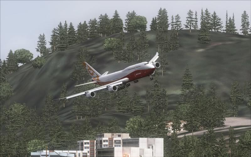 [FS9] Boeing 747-8 Intercontinental pousando em Kai Tak SpeedRacer_151