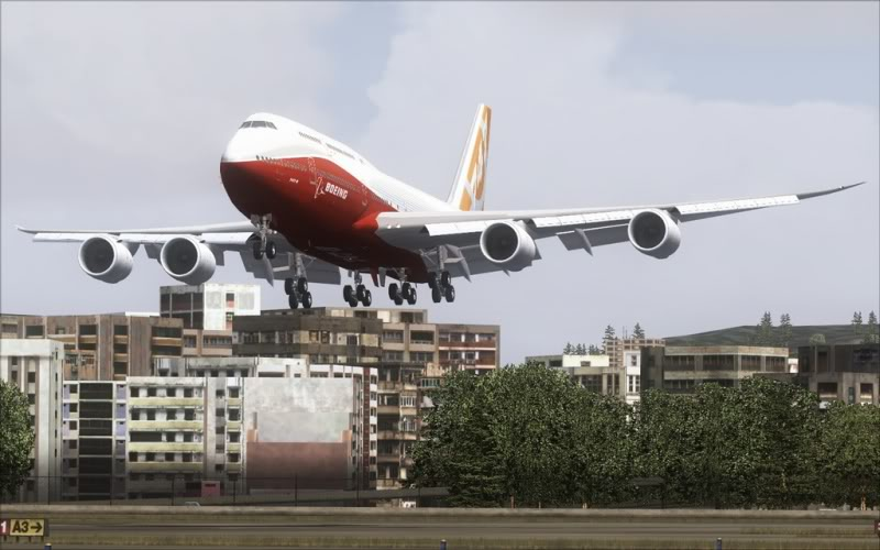 [FS9] Boeing 747-8 Intercontinental pousando em Kai Tak SpeedRacer_161