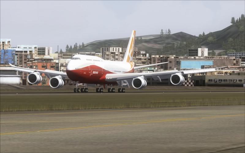[FS9] Boeing 747-8 Intercontinental pousando em Kai Tak SpeedRacer_167