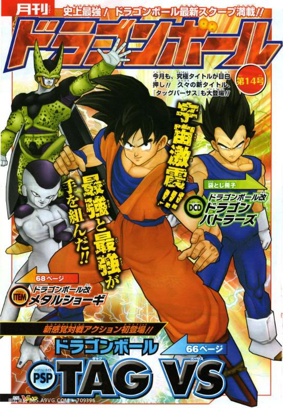 Dragon Ball Tag VS (PSP) 2metrev