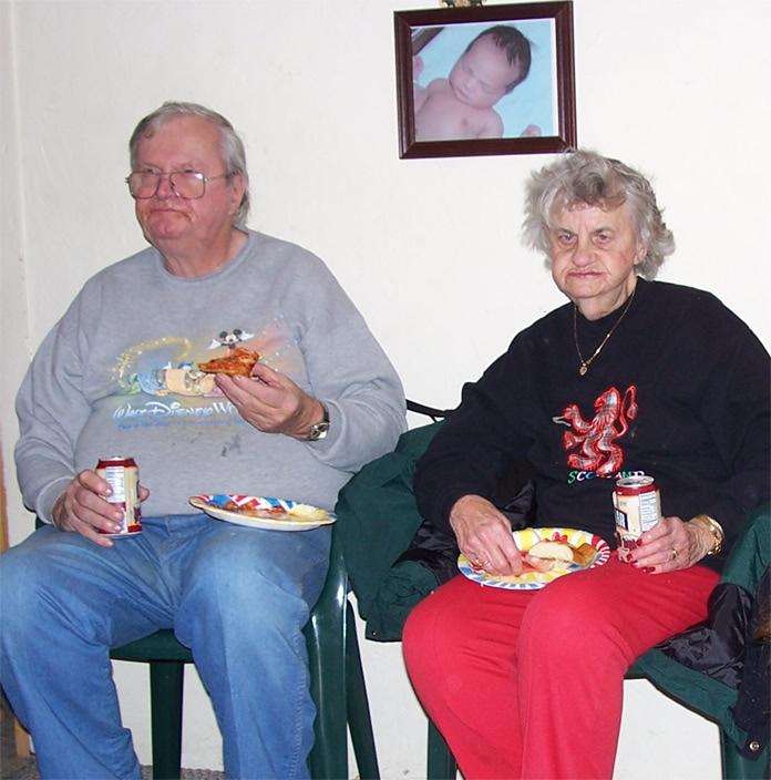 Shock Totem Family Photo Album GramGramps