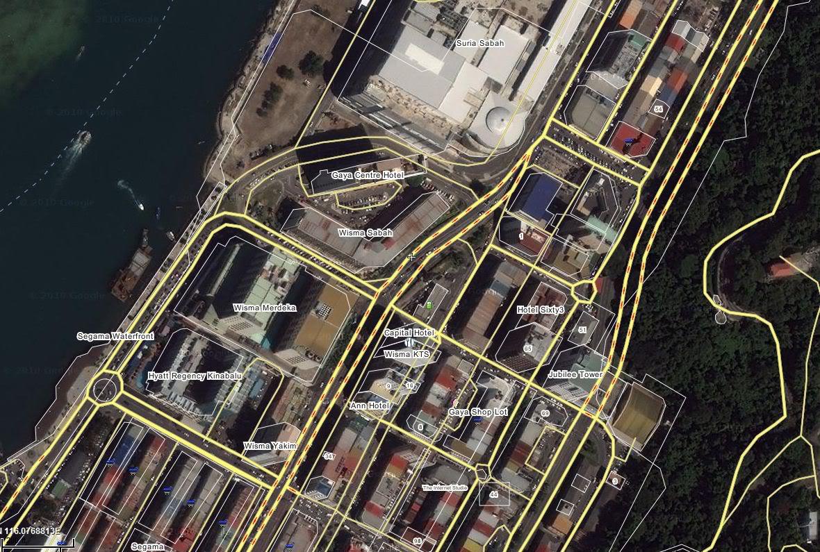 沙巴の亞庇, 讓你我了解更多 Map1