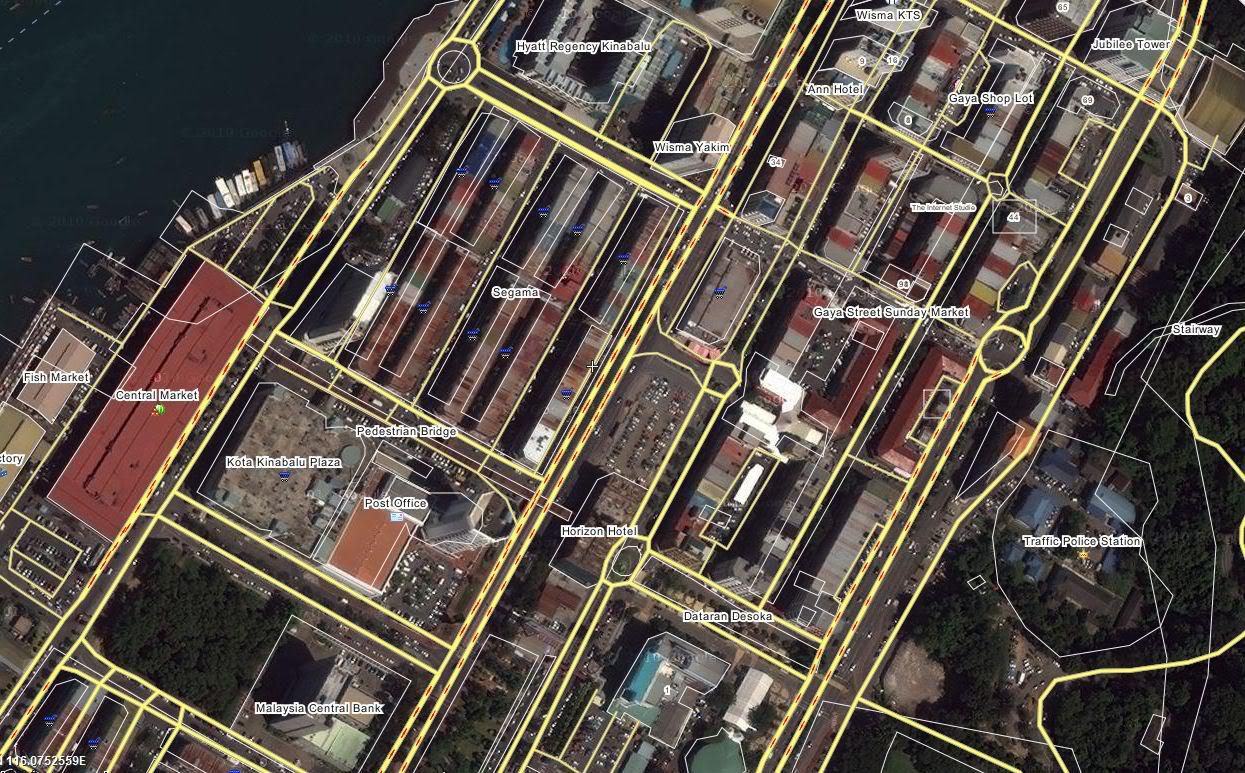 沙巴の亞庇, 讓你我了解更多 Map2