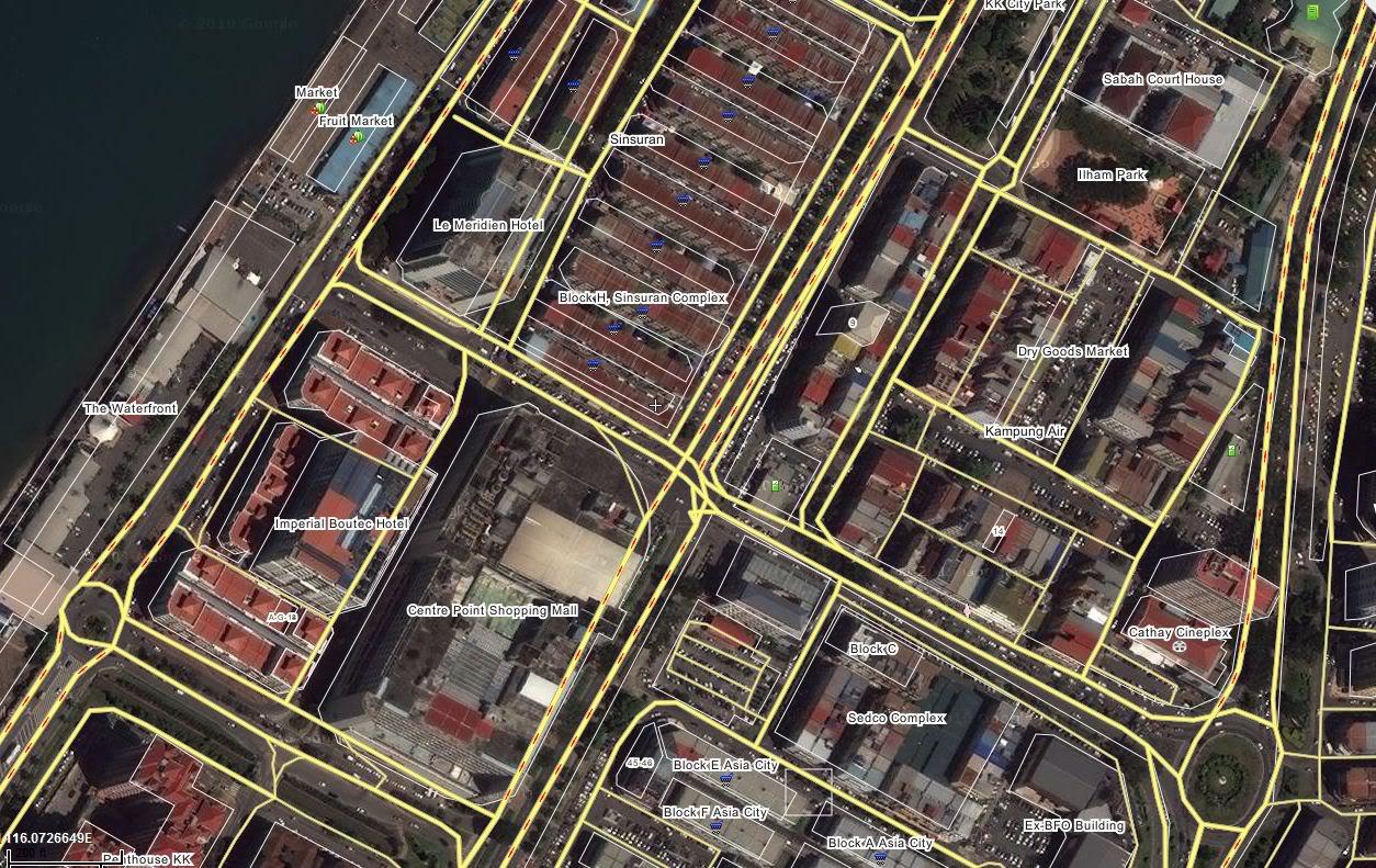 沙巴の亞庇, 讓你我了解更多 Map3