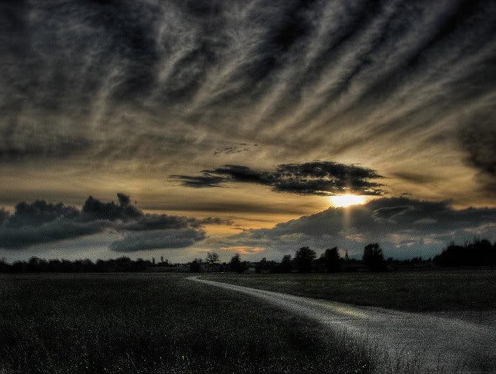 Nebo i oblaci SunsetRoadv2