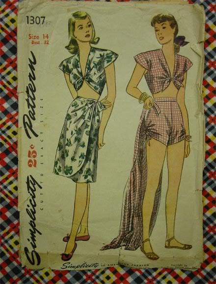 Vintage Patterns - Page 2 Sim1307