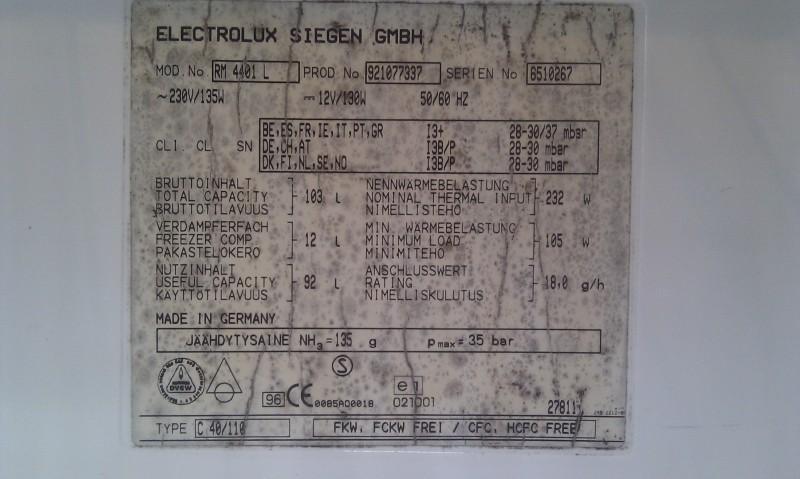 Kjøleskap 12V drift IMAG0960