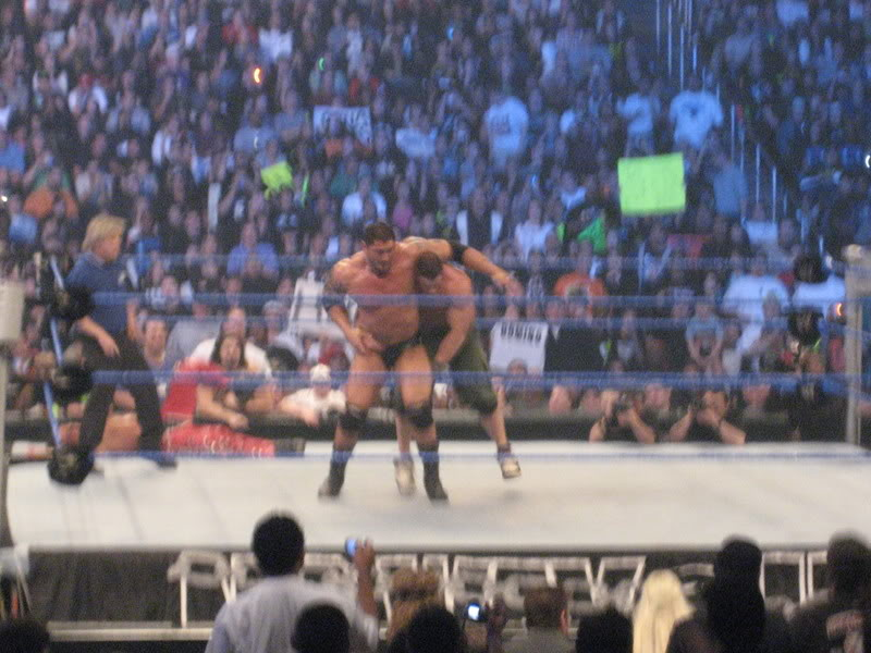 John Cena, Triple H & Trish Stratus vs Team Rated RKO IMG_0190