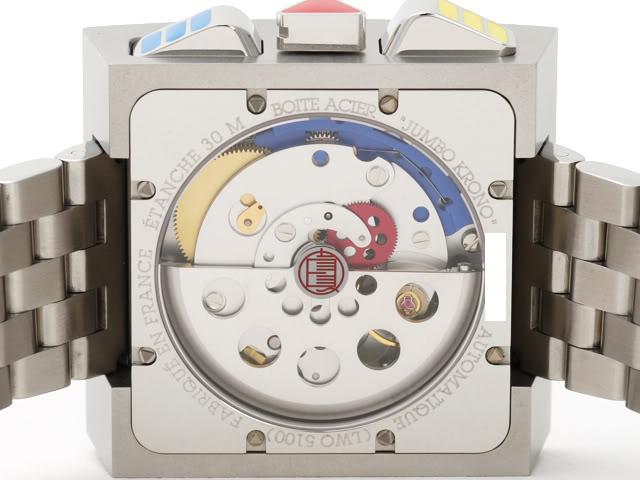 Et si vous portiez une montre carrée ce serait ? As022-3